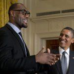 NBA – «LeBron dit qu'il ne veut pas devenir Président, mais qui sait ?»