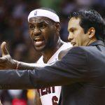 NBA – Le jour où LeBron demandait à Pat Riley de coacher à la place d'Erik Spoelstra