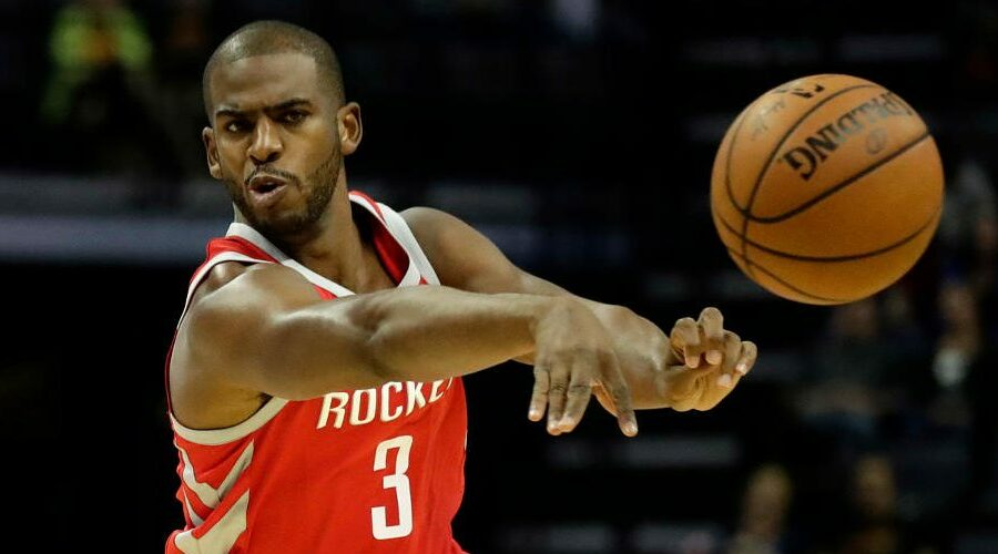 Chris Paul sous le maillot des Rockets