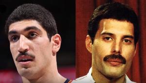 Enes Kanter et Freddie Mercury