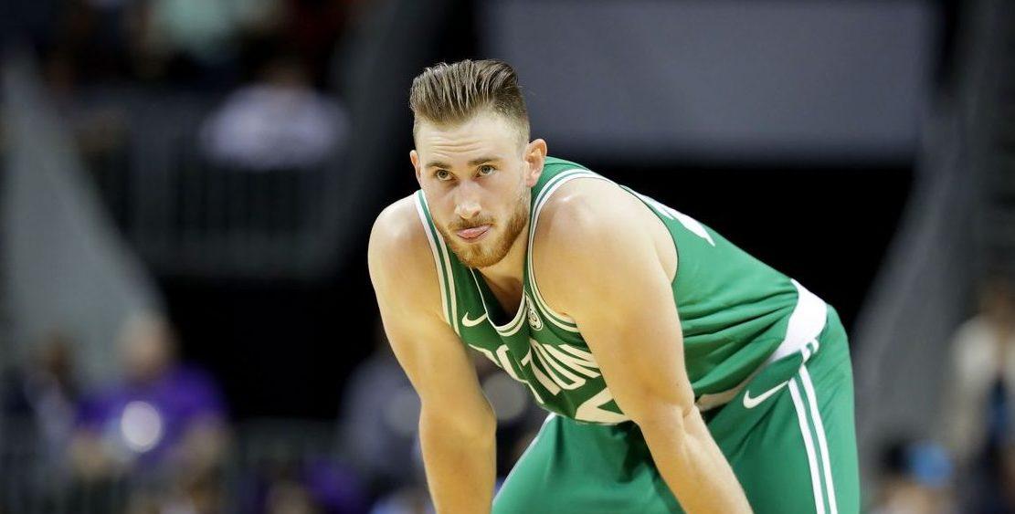 Gordon Hayward sous le maillot des Celtics