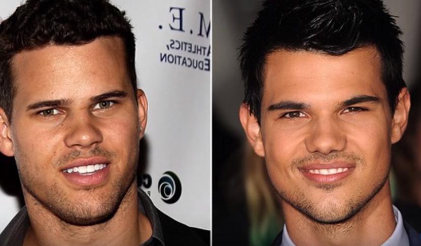 Kris Humphries et Taylor Lautner