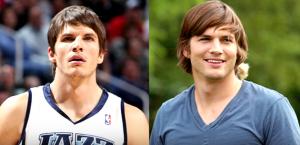 Kyle Korver ressemble à Ashton Kutcher