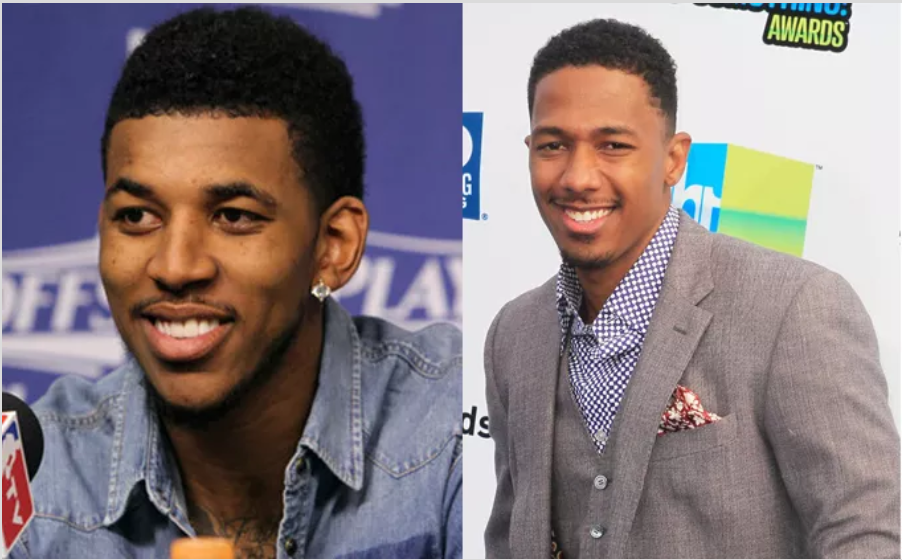 Nick Young et l'acteur Nick Cannon