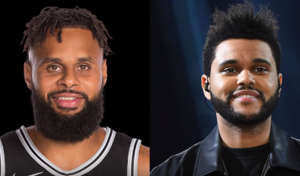 Patty Mills et The Weekend