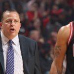 NBA – Tom Thibodeau réagit au terme « TimberBulls »
