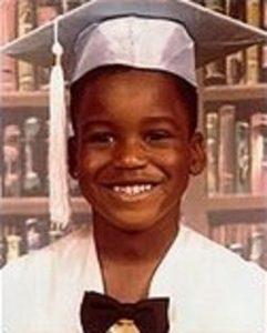 Shaquille O'Neal, enfant.