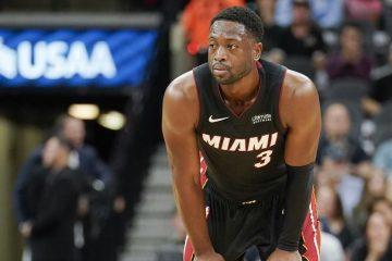 Dwyane Wade sous le maillot du Heat