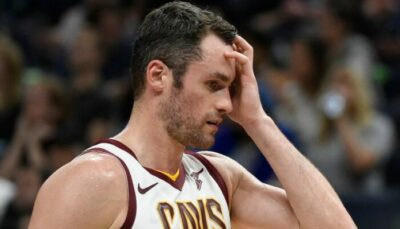 NBA – La réaction des Cavs au comportement inadmissible de Kevin Love