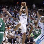 NBA – Les Français de la nuit : Nicolas Batum et Guerschon Yabusele se rendent coup pour coup