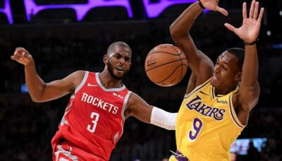 NBA – « Les Lakers vont perdre Rondo et signer Chris Paul »