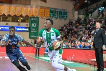 Sekou Doumbouya sous le maillot limougeaud contre Gravelines-Dunkerque