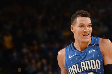 Aaron Gordon sous le maillot du Magic.