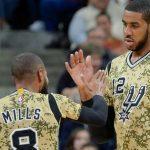 NBA – Spurs : LaMarcus Aldridge et Patty Mills appelés à être des leaders