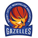 Logo du BLMA (Basket Lattes-Montpellier) en LFB