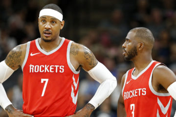 Carmelo Anthony et Chris Paul aux Houston Rockets