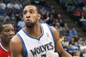 Derrick Williams sous le maillot des Timberwolves.