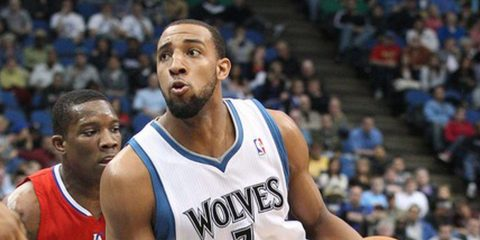 Derrick Williams sous le maillot des Timberwolves.