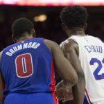 NBA – Ca a chauffé entre Joel Embiid et Andre Drummond !