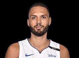 Evan Fournier, joueur français en NBA