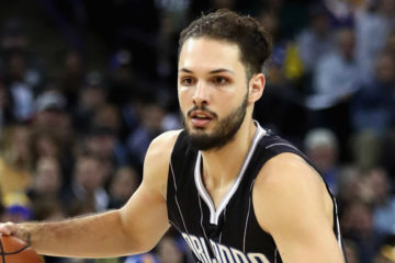 Evan Fournier en NBA (Nuggets puis Magic)