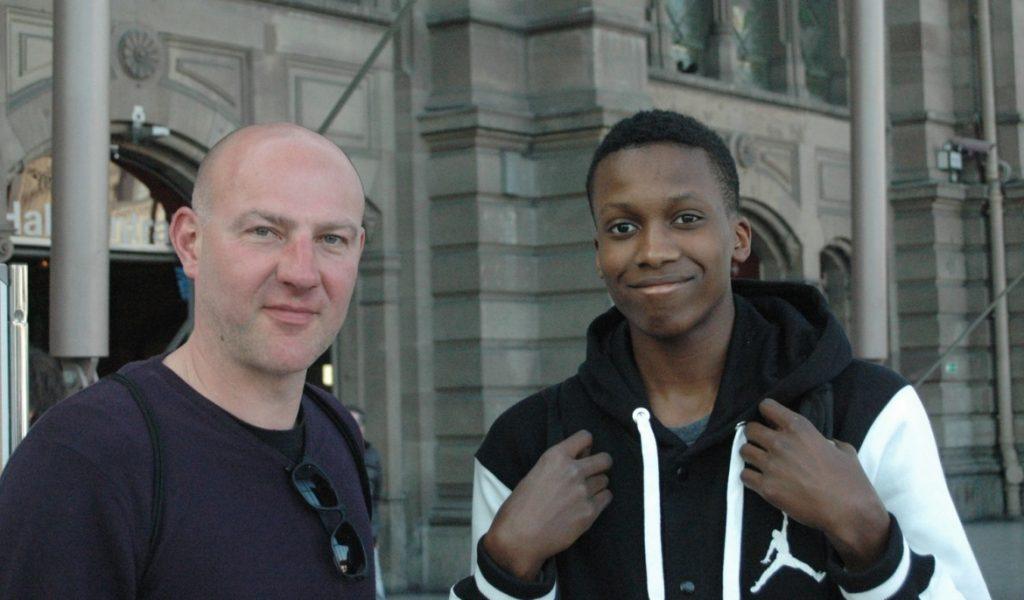 Frank Ntilikina comment le basket très jeune en Belgique