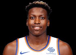 Frank Ntilikina, joueur français en NBA