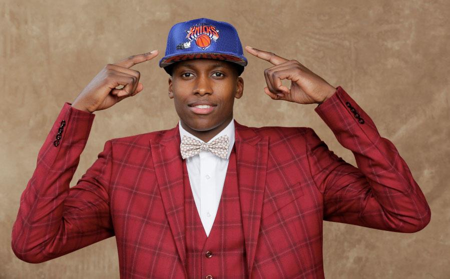 Frank Ntilikina est drafté en NBA par les New York Knicks