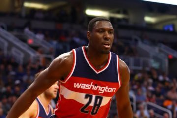 Ian Mahinmi sous le maillot des Washington Wizards