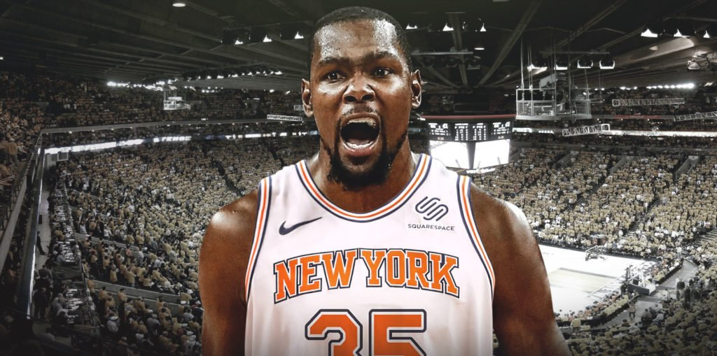 D'après Ric Bucher de Bleacher Report, Kevin Durant aurait déjà choisi d'aller aux Knicks la saison prochaine