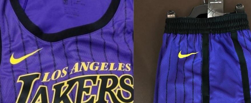 NBA – Le maillot «City» des Lakers révélé ?