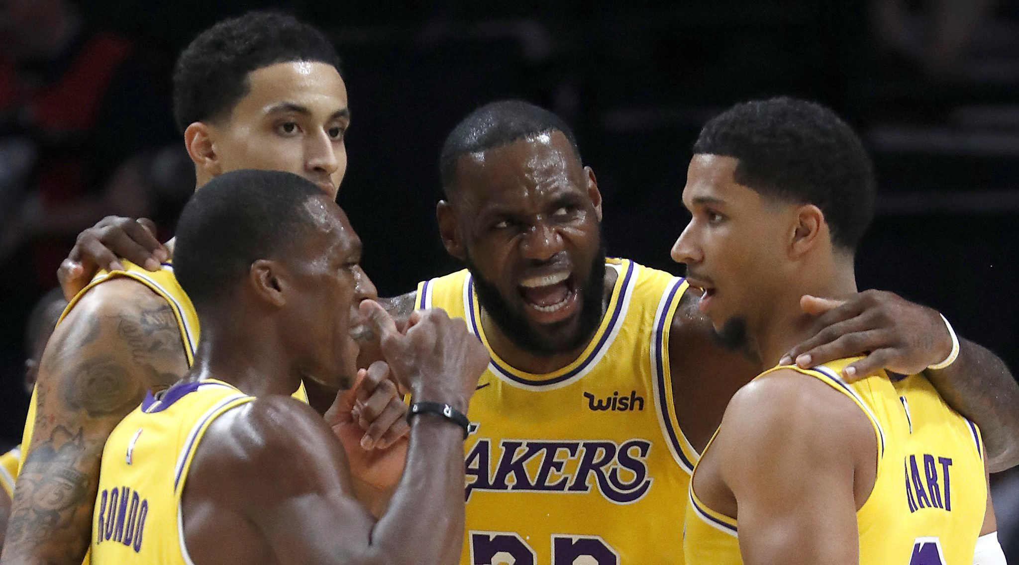 LeBron James motive les Lakers