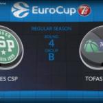 Eurocup- Les highlights de Limoges / Tofas Bursas