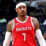 NBA – La rupture toute proche entre Carmelo Anthony et Houston