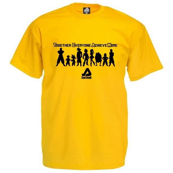 T-Shirt DB Squad Jaune (25€)