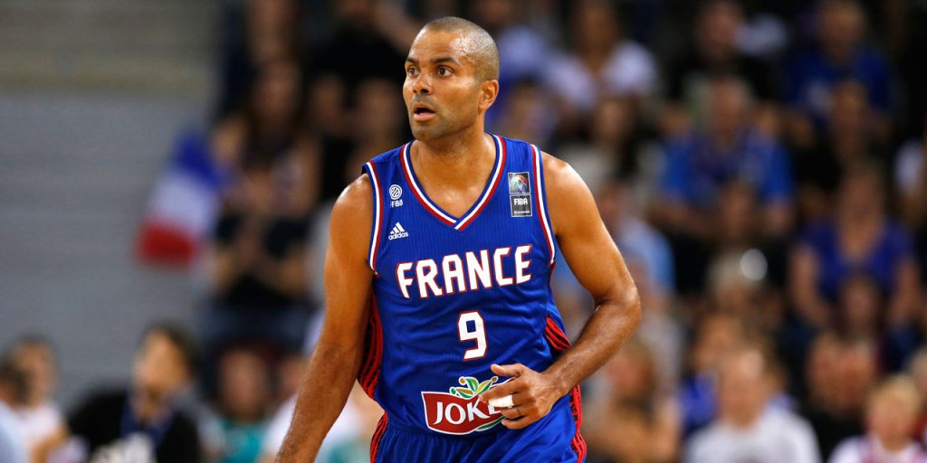 Tony Parker capitaine de l'Equipe de France de basket
