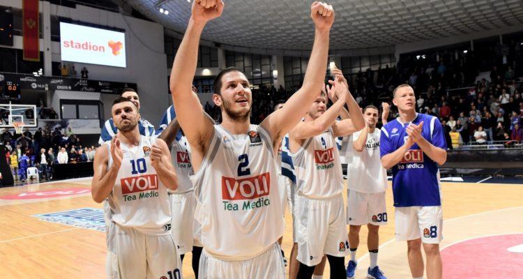 21/34 à 3 points pour Podgorica