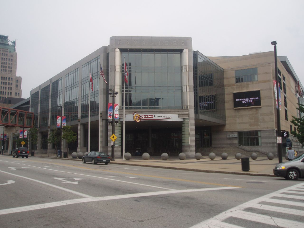 La Quicken Loans Arena, salle des Cleveland Cavaliers en NBA
