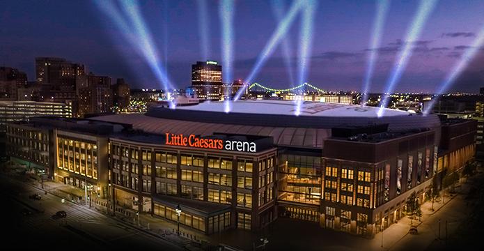 La Little Caesars Arena, salle des Detroit Pistons en NBA