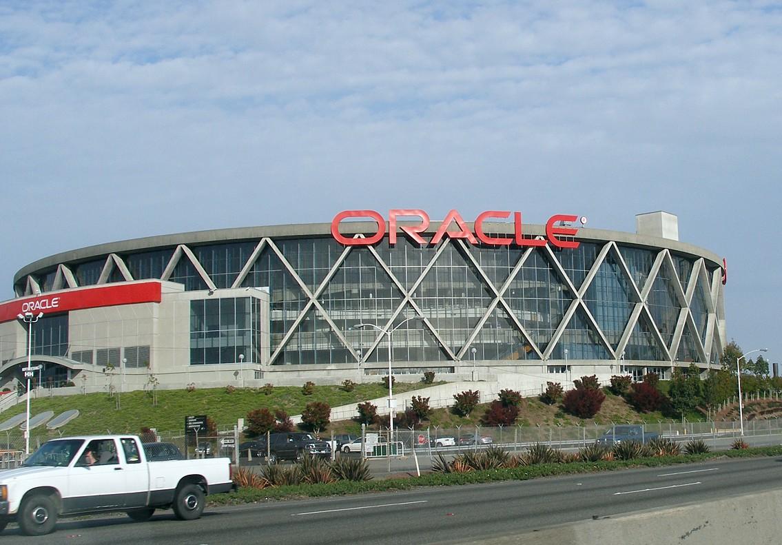 L'Oracle Arena, la salle des Golden State Warriors en NBA