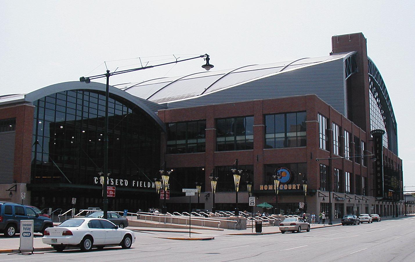 La Bankers Life Fieldhouse, salle des Indiana Pacers en NBA