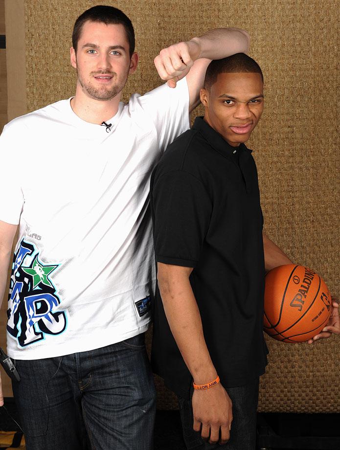 Kevin Love et Russell Westbrook étaient colocataires à l'université
