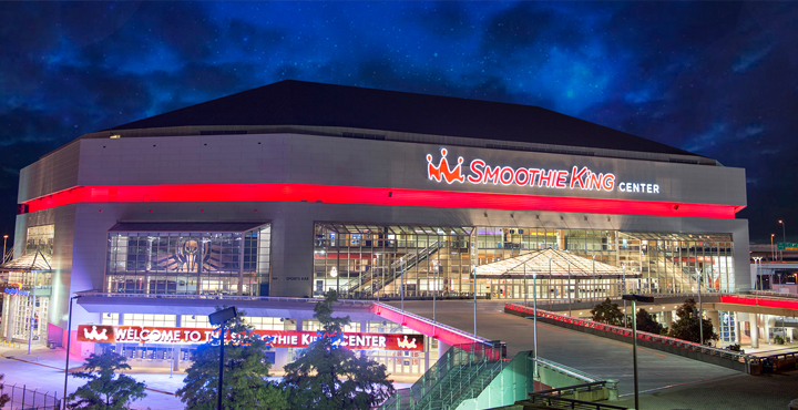 Le Smoothie King Center, salle des New Orleans Pelicans en NBA