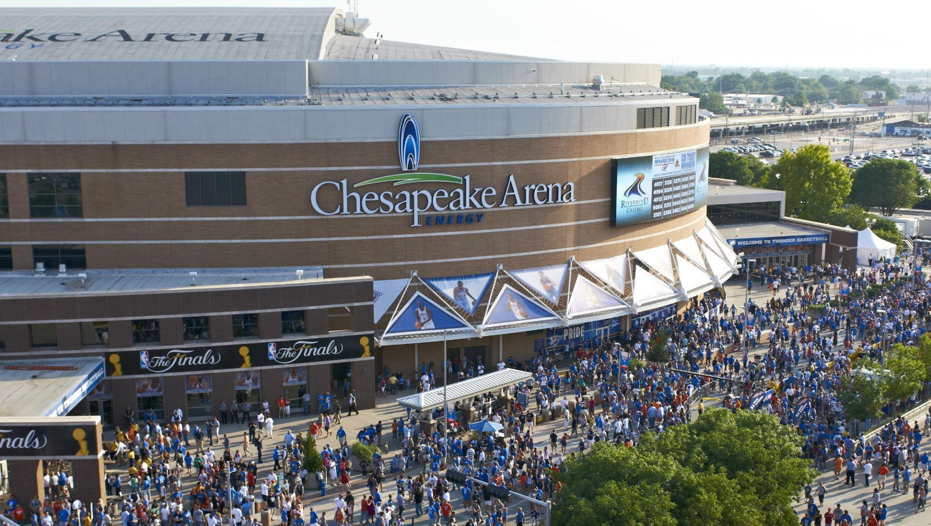La Chesapeake Energy Arena, salle d'Oklahoma City Thunder NBA