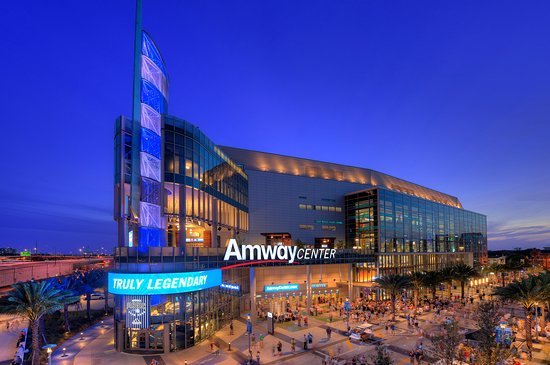L'Amway Center, salle du Orlando Magic en NBA
