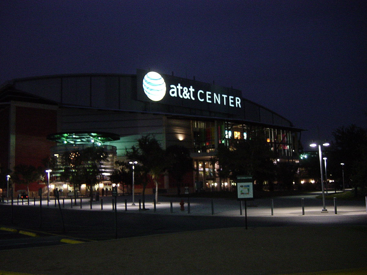 L'AT&T Center, salles des San Antonio Spurs en NBA