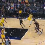 NBA – Shaqtin' A Fool : LeBron pour une tentative de middle kick ?