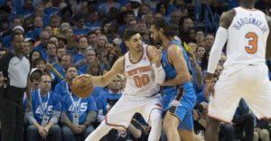 NBA – Steven Adams tacle Enes Kanter