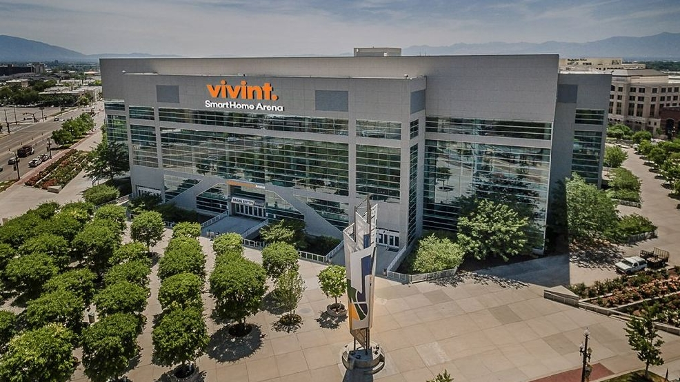 La Vivint Smart Home Arena, salle du Utah Jazz en NBA