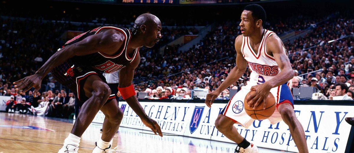 taille 40 dae95 135b7 NBA - Quand Michael Jordan a refusé Allen Iverson